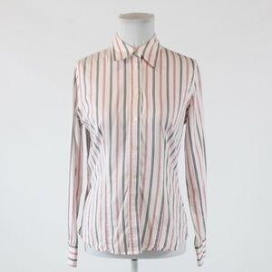White pink JONES NEW YORK blouse S